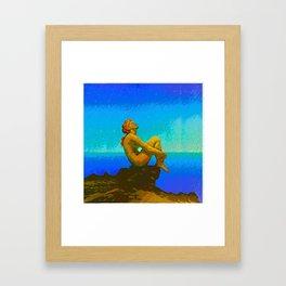 STAR GAZER Framed Art Print