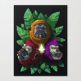 3 Sages Canvas Print