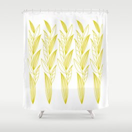 Eternity in Gold Leaf II Shower Curtain
