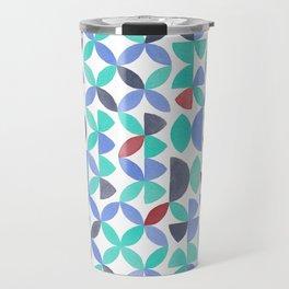 LITE GARDEN SALAD, hand-painted pattern by Frank-Joseph Travel Mug