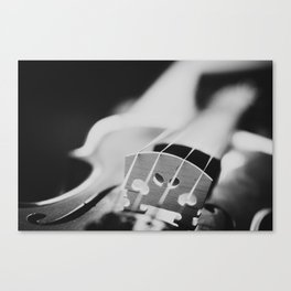 Violin Strings Canvas Print