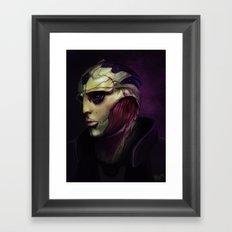 Mass Effect: Thane Krios Framed Art Print