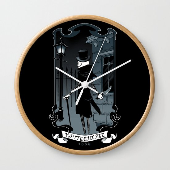 Jack the Ripper Wall Clock