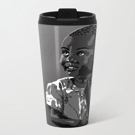 God bless the child 104 Metal Travel Mug
