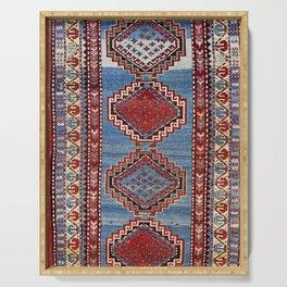 Kazak  Antique South West Caucasus Rug Print Serving Tray
