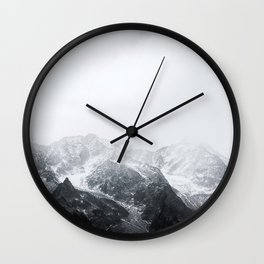 Morning in the Mountains - Nature Photography Wall Clock