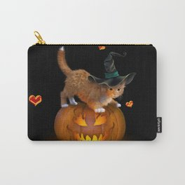 Kitty Halloween Carry-All Pouch