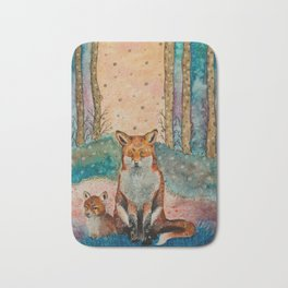 Daydreaming Fox Bath Mat