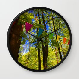 The Flags Wall Clock