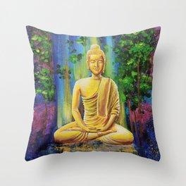 Buddha - Nirvana Throw Pillow