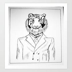 Fine Feline  Art Print