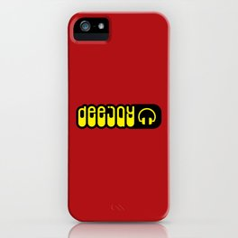 DeeJay Music Quote iPhone Case
