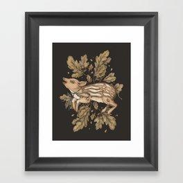 Almost Wild, Foundling Framed Art Print