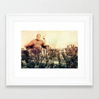 sopranos Framed Art Prints featuring The Sopranos by PIXERS