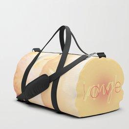 Love / Laugh Duffle Bag