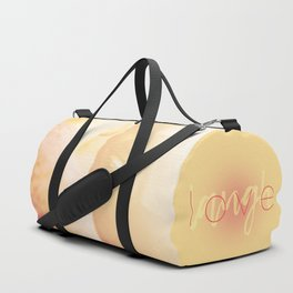 Love / Laugh Duffle Bag