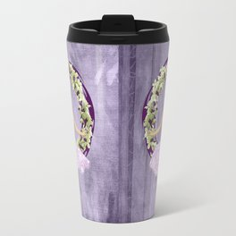 Ballerina Orchid Wreath Travel Mug