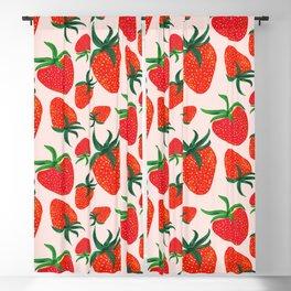 Strawberry Harvest Blackout Curtain