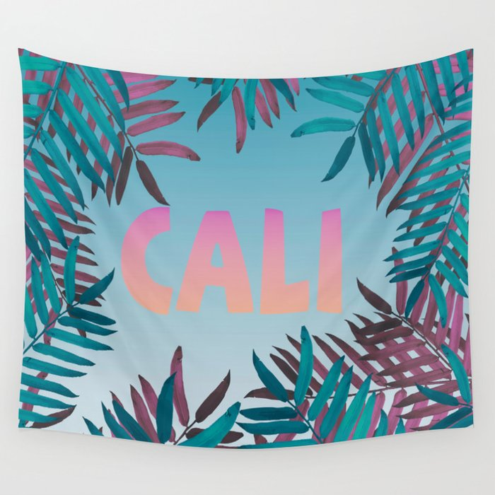 CALI VIBES Wall Tapestry