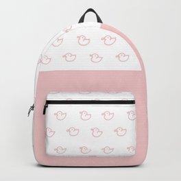 Ducklings Pink Backpack