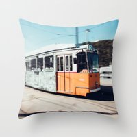 budapest Throw Pillows featuring Budapest by Johnny Frazer