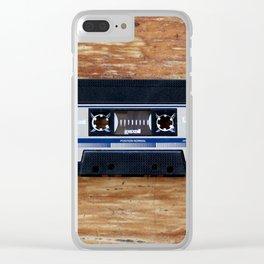 Cassette Clear iPhone Case