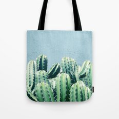 Cactus & Teal #society6 #decor #buyart Tote Bag