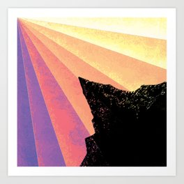 Ray of Sun Art Print