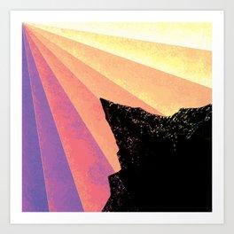 Ray of Sun Art Print