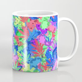 Pizza, weed and lazy cats Coffee Mug