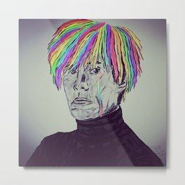 Rainbow Andy Metal Print