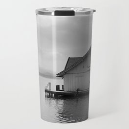 house boat Travel Mug