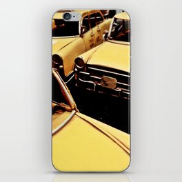 New York parking iPhone Skin