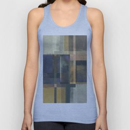 Abstract Geometry No. 19 Unisex Tank Top