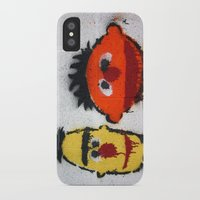 sesame street iPhone & iPod Cases featuring Bert and Ernie, Sesame Street, Graffiti by 8daysOfTreasures