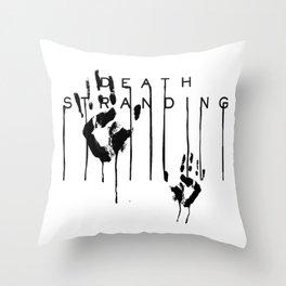 Death Stranding Hideo Kojima videogame lou sam porter Throw Pillow