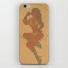 Push Pin Up iPhone & iPod Skin