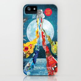 Luna Marina iPhone Case