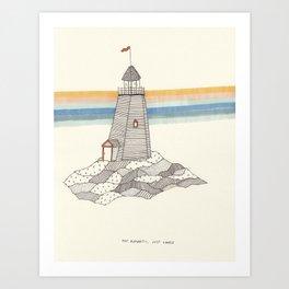 Just Lonely Fine Art Print Art Print