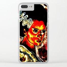 Bride of Frankenstein Clear iPhone Case