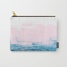 Ocean + Pink #society6 #decor #buyart Carry-All Pouch