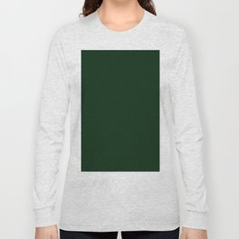 Simply Pine Green Long Sleeve T-shirt