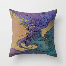 Magic Smoke Throw Pillow