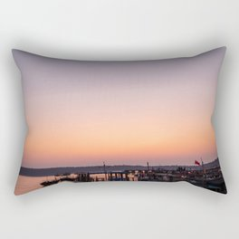 Sleepy Harbour Rectangular Pillow