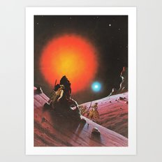 The Wild West Guide To The Galaxy # 190 Art Print