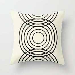 life balance Throw Pillow