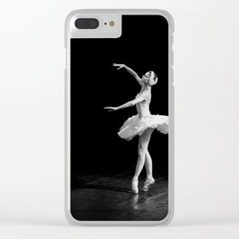 Russian Ballet Dancer 1 Clear iPhone Case