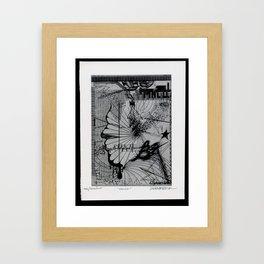 Malice Framed Art Print