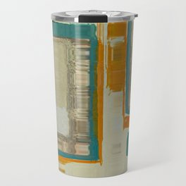 Mid Century Modern Blurred Abstract Art Best Most Popular by Corbin Henry Travel Mug