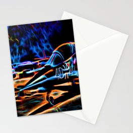 Neon Jet Stationery Cards